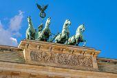 Quadriga Statue. Berlin, Germany