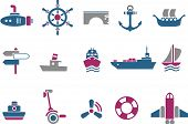 picture of u-boat  - Vector icons pack  - JPG