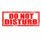Do Not Disturb-stamp