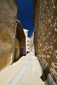 Stony Way In Provence Village