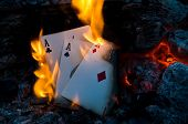 Burning Aces