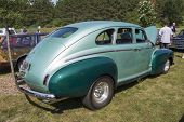 1941 Nash Ambassador Aqua Blue Car Side View