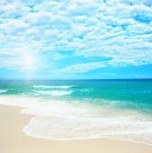 Постер, плакат: Песчаный пляж