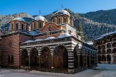 The Rila Monastery In Bulgaria