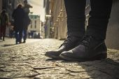 Black Shoes On The Street