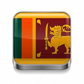 Metal  icon of Sri Lanka