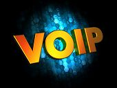 stock photo of voip  - VOIP Concept  - JPG