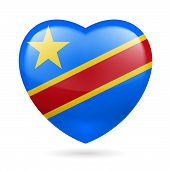 Heart icon of Democratic Republic of Congo