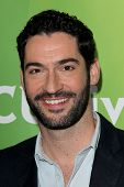 LAS VEGAS - APR 8:  Tom Ellis at the NBCUniversal Summer Press Day at Huntington Langham Hotel on Ap