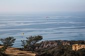 Para Gliders over Torrey Pines