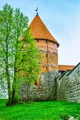 Tower Of Castle. Trakai, Lithuania