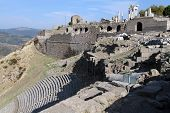 Ruins Of Theater in Turkey