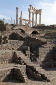 Trajan Temple And Ruins