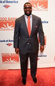 NEW YORK-APR 9: NFL player Chris Canty attends the Food Bank for New York City's Can Do Awards Dinne