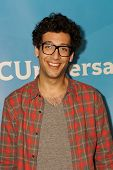 PASADENA - APR 8: Rick Glassman at the NBC/Universal's 2014 Summer Press Day held at the Langham Hot