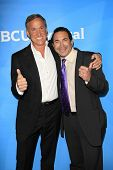 PASADENA - APR 8: Dr. Paul Nassif, Dr. Terry Dubrow at the NBC/Universal's 2014 Summer Press Day hel