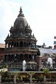 Fountain And Temple