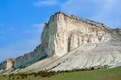 White Cliff. Crimea. Ukraine