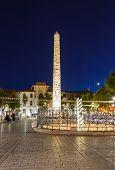 Obelisk at hippodrome in Istanbul