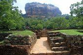 Ruins Near Sigiriya