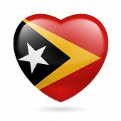 Heart icon of East Timor