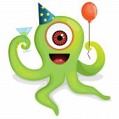 Party Octopus Monster