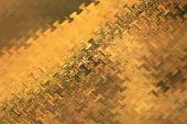 Gold - Color Background and Abstract Art Patterns