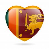Heart icon of Sri Lanka