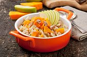 pic of lenten  - Oatmeal with pumpkin - JPG