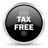 tax free internet icon