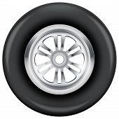 wheel and tire symbol