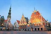 House of the Blackheads in Riga, Latvia