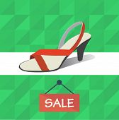 shoes sale poster