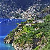 picturesque Amalfi coast of Italy - Positano