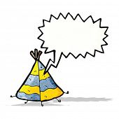 foto of teepee tent  - cartoon teepee - JPG