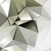 eps10 vector triangular shape elements business background
