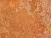 Grunge orange wall texture - terracotta background