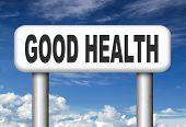 good health, healthy active lifestyle and bio food