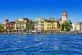 scenic lago di Garda - Sirmione, Italy