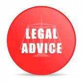 legal advice web icon