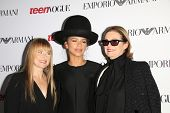 LOS ANGELES - SEP 26:  Amy Astley, Zendaya Coleman, Lisa Love at the 12th Annual Teen Vogue Young Hollywood Party at Emporio Armani on September 26, 2014 in Beverly Hills, CA