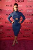 LOS ANGELES - SEP 26:  Carmen Ortega at the Benefit Cosmetics Kicks Off Wing Women Weekend at Space 15 Twenty on September 26, 2014 in Los Angeles, CA