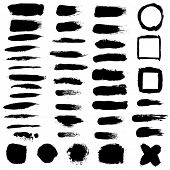 Black Blobs Set
