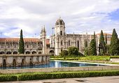Monastery of the Hieronymites in Santa Maria de Belem, Lisbon, Portugal