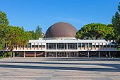 Lisbon, Portugal. August 24, 2014: Calouste Gulbenkian Planetarium in Belem.