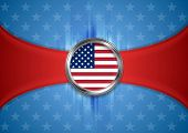 USA vector background. Labor Day. Independence Day