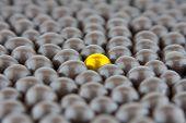 Chocolate Drops Flat Gold