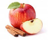 Apple with cinnamon