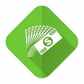 money flat icon cash symbol