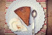 Chocolate Truffle Pie.